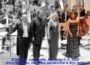 Koncert Laeiszhalle, 9. 9. 2009 - Emmanuel Villaume,  Ekaterina Semenchuk, Bryn Terfel, Anna Netrebko
