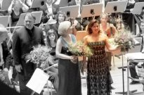 Koncert Laeiszhalle, 9. 9. 2009 - Ekaterina Semenchuk, Bryn Terfel, Anna Netrebko