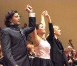Koncert Paříž, Francie, 1. 10. 2009 -  M. Giordano - tenor, A Netrebko - sopran, Keri-Lynn Wilson - dirigent