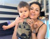 Anna se synem Tiagem (červenec 2009)