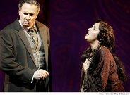 Dwayne Croft/Germont, A. Netrebko/Violetta, La Traviata, San Francisco (13. 6. 2009) Foto: B. Ward