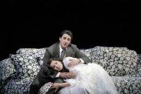 A. Netrebko/Violetta, Charles Castronovo/Alfred, La Traviata, San Francisco (13. 6. 2009) Foto: C. Weaver