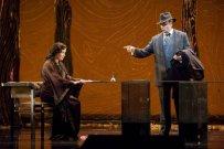 A. Netrebko/Violetta, Dwayne Croft/Germont, La Traviata, San Francisco (13. 6. 2009) Foto: C. Weaver