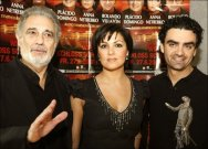 Domingo, Netrebko, Villazon
